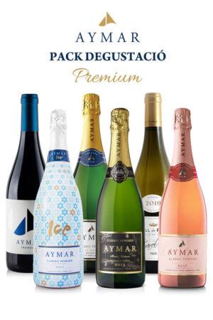 Pack degustació PREMIUM vins ecològics i ClàssicPenedès Aymar